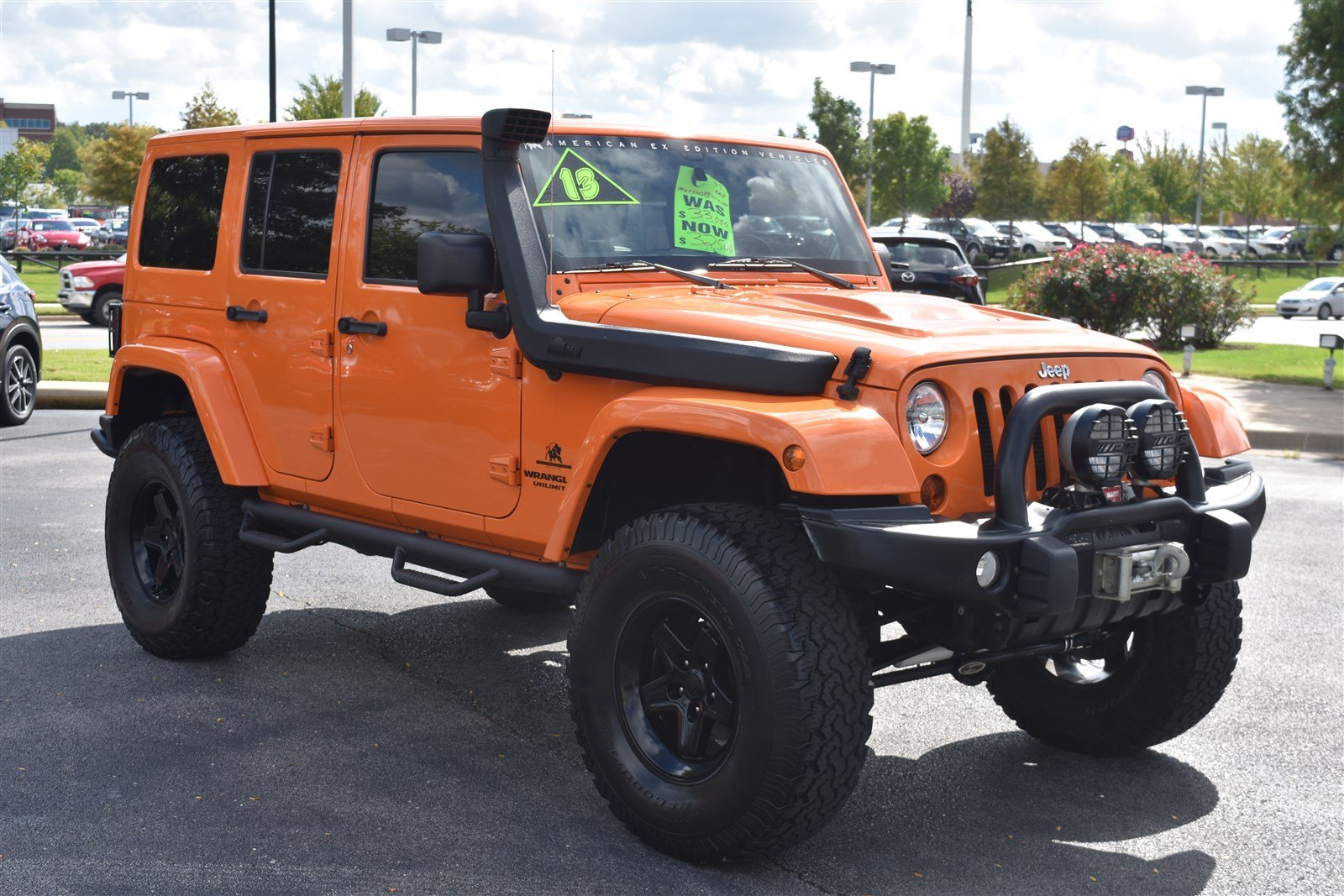 Pre Owned 2013 Jeep Wrangler Unlimited Rubicon 4WD