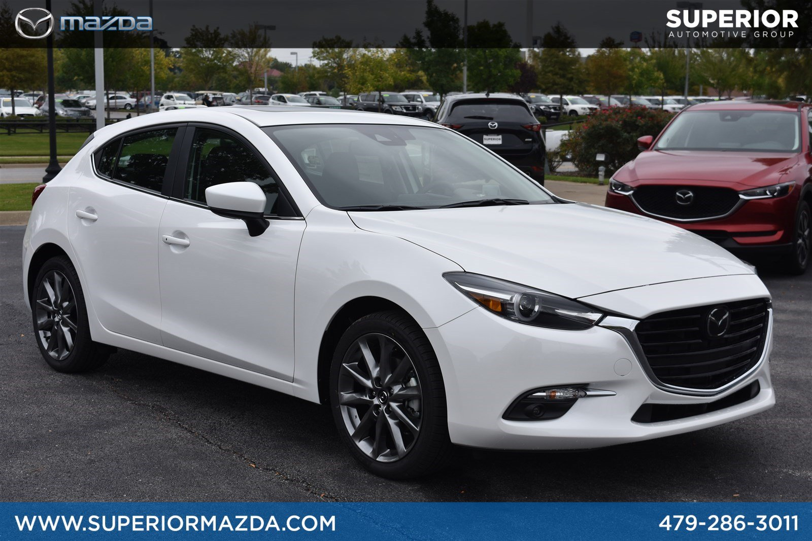 New 2018 Mazda Mazda3 5 Door Grand Touring Hatchback In Bentonville