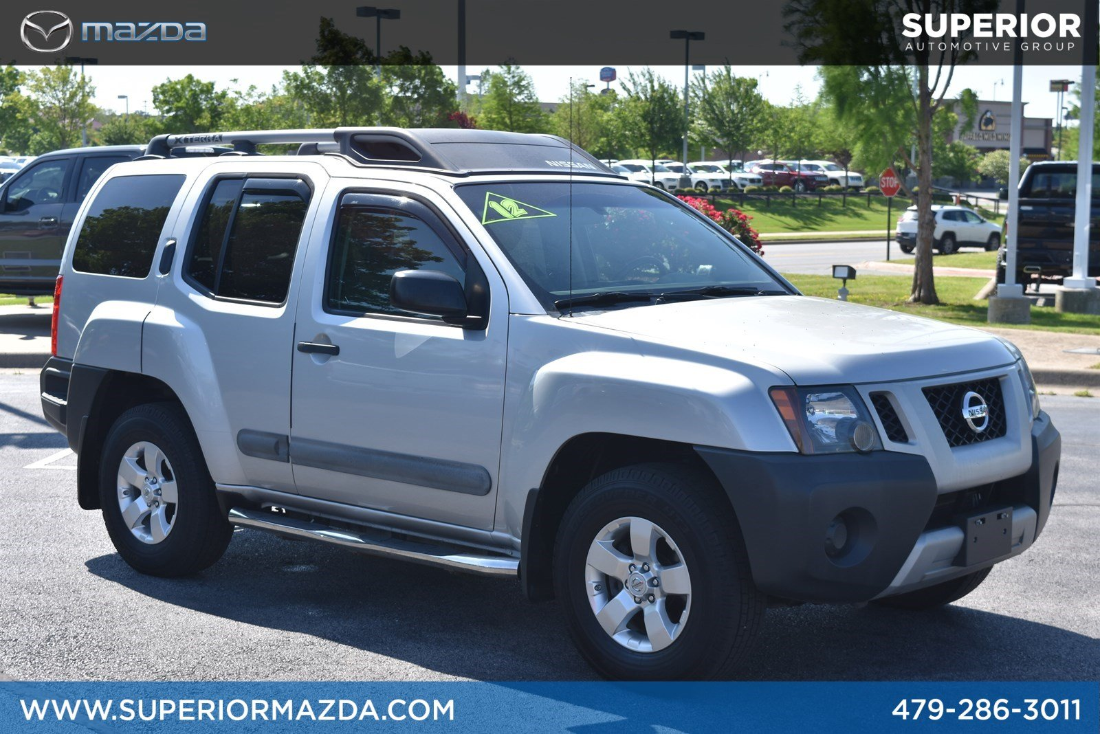 Pre-Owned 2012 Nissan Xterra S 4WD