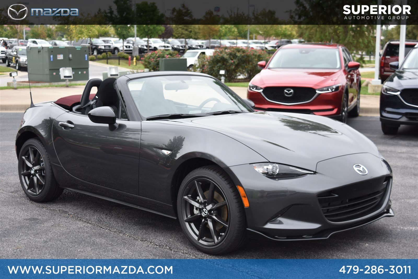 New 2018 Mazda Mx 5 Miata Club Convertible In Bentonville Z205897 Warn 6000 Wiring Diagram