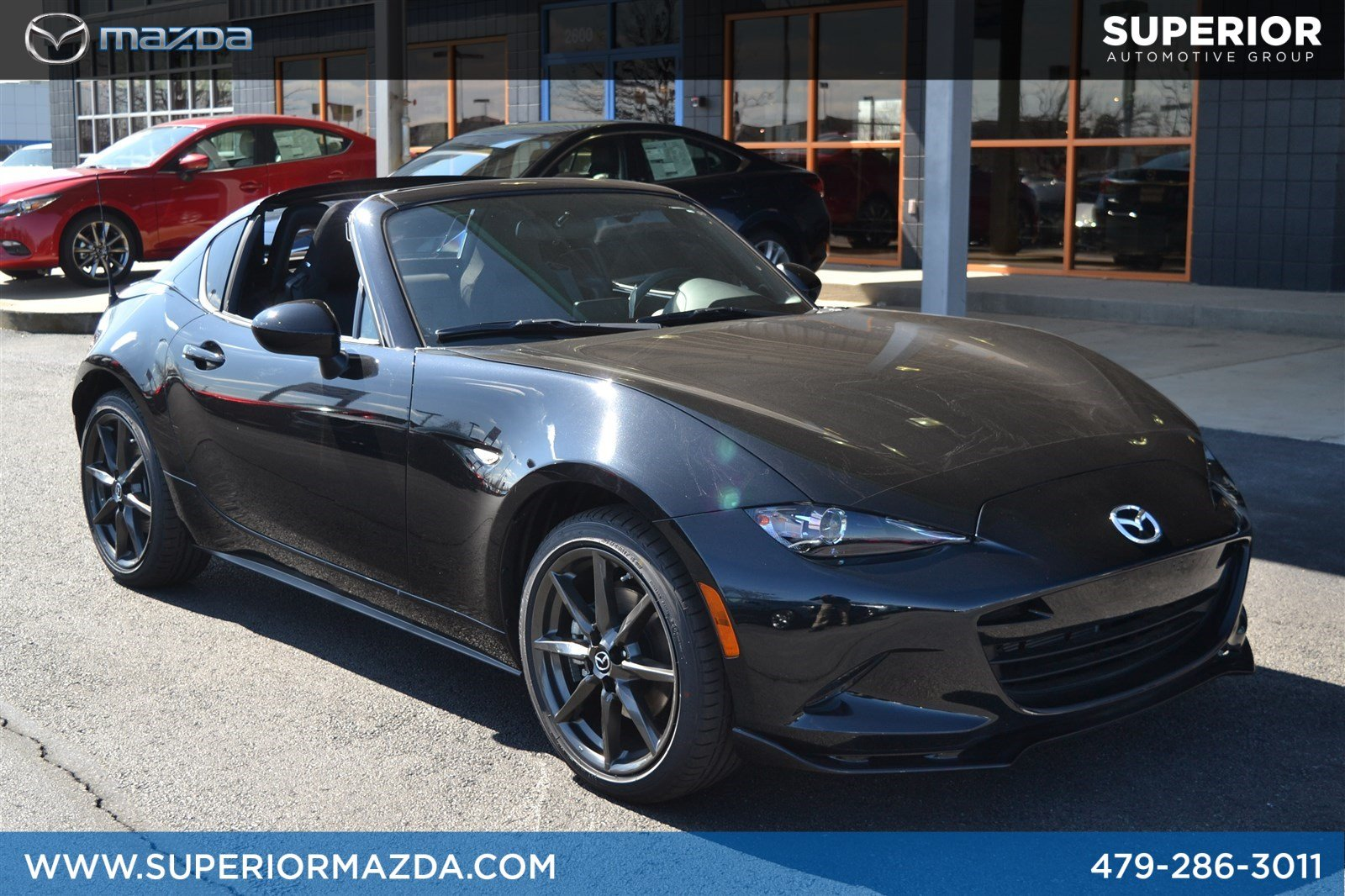 new 2018 mazda mx 5 miata rf club 2dr car in bentonville. Black Bedroom Furniture Sets. Home Design Ideas