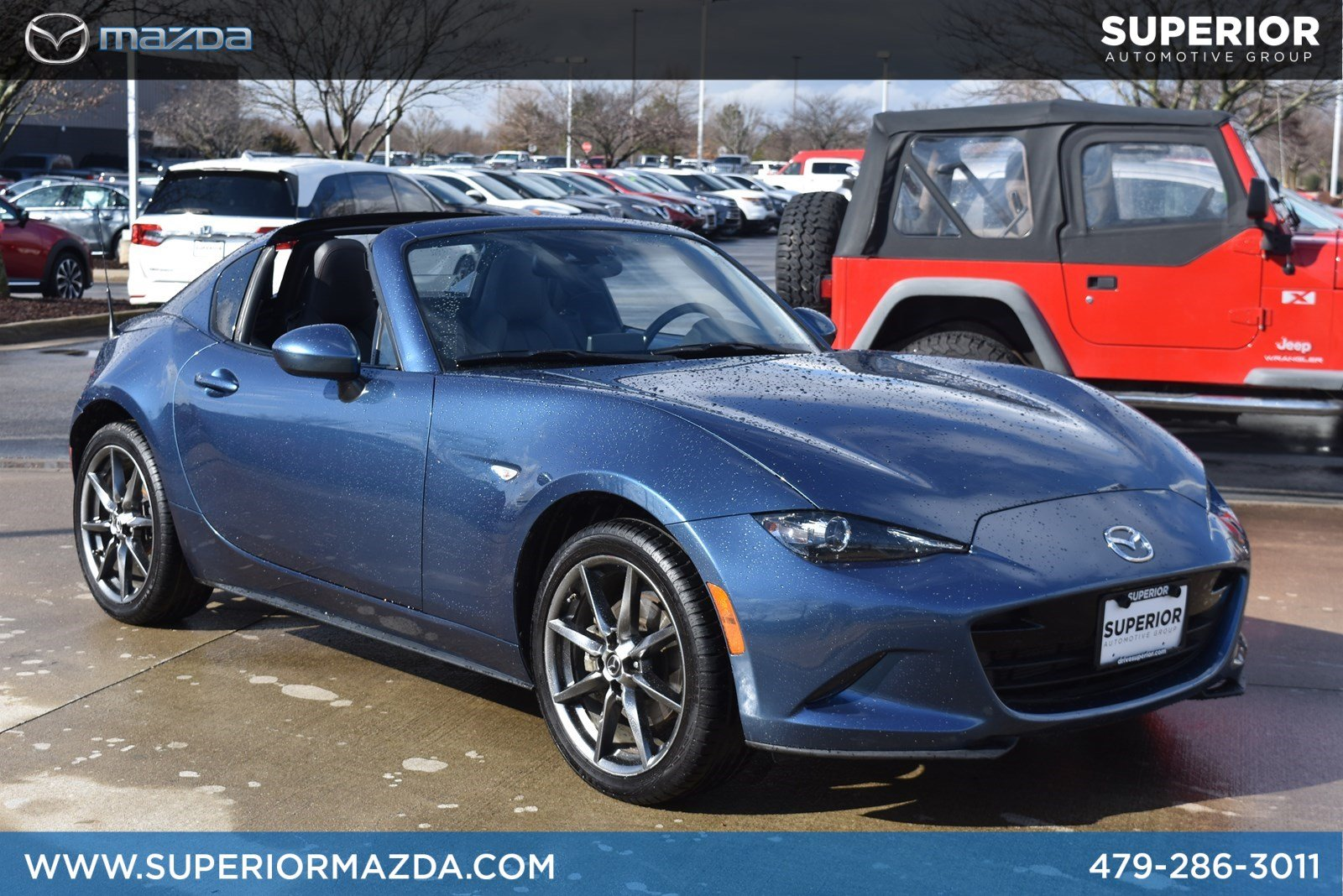 Certified Pre-Owned 2018 Mazda MX-5 Miata RF Grand Touring