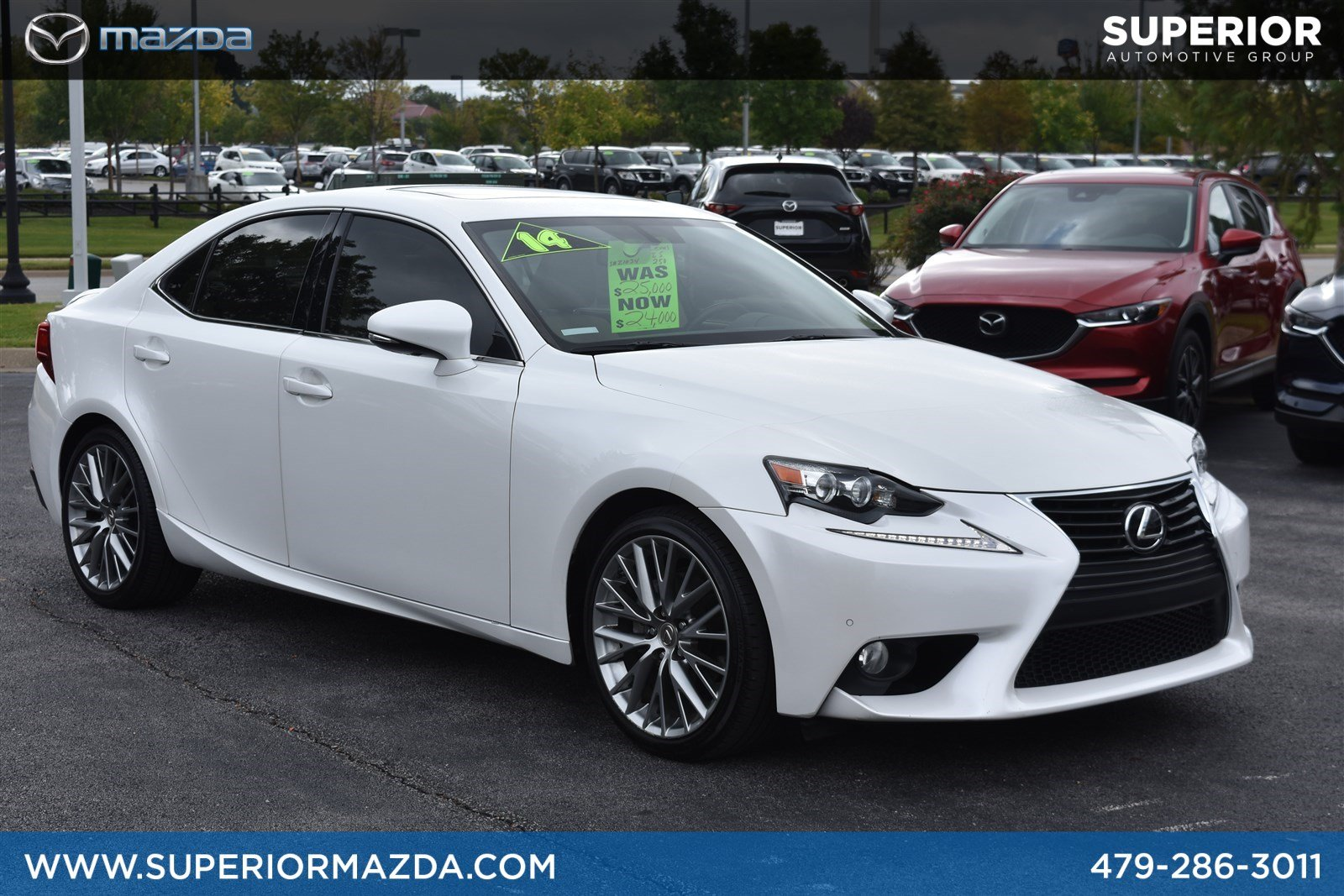 Pre Owned 2014 Lexus Is 250 4dr Car In Bentonville Z1034