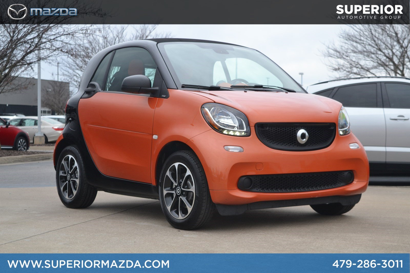 Pre-Owned 2017 smart fortwo passion