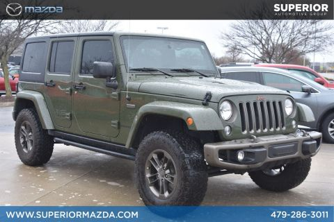Pre-Owned 2016 Jeep Wrangler Unlimited 75th Anniversary 4WD