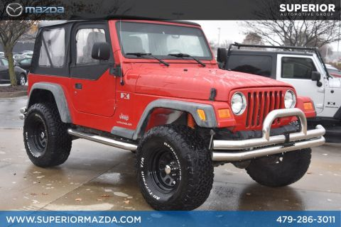 Pre-Owned 2006 Jeep Wrangler X 4WD
